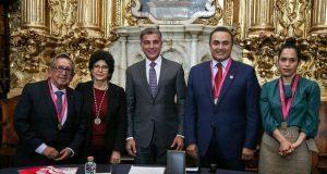 Gali preside instalación del Seminario de Cultura Mexicana