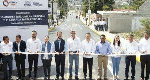 Entregan 3 pavimentaciones y rehabilitación Villa del Jubilado SNTE