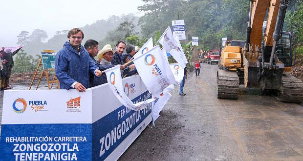 Rehabilitarán con 37 mdp tramo carretero Zongozotla-Tenepanigia