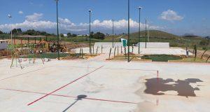 Ayuntamiento de Ocoyucan amplía unidad deportiva de Temoxtitla