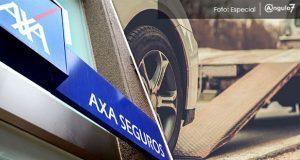 Sustraen autopartes de vehículo encargado a AXXA