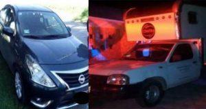 Policía estatal recupera 6 vehículos robados en tres municipios