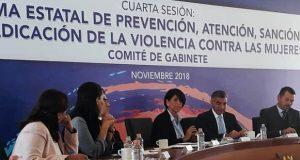 Avanza gobierno en 76% en recomendaciones por solicitud de alerta de género