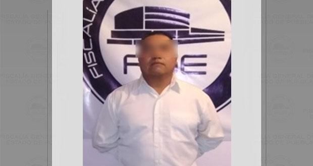 FGE detiene a sujeto acusado de violación hace 28 años en Necaxa