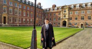 Becario del Conacyt logra mejor tesis del año en Reino Unido
