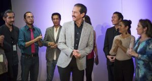 Alfonso Esparza celebra 10 años del CCU de la BUAP