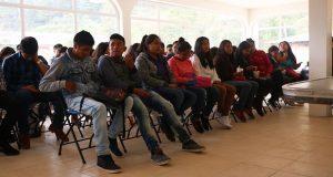 En Huauchinango, Antorcha impulsa a bachilleres a estudiar periodismo