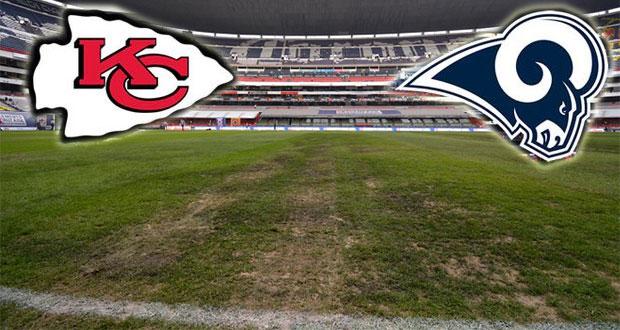 Cancelan juego de NFL en el Azteca por malas condiciones del césped