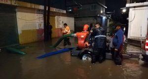 Ceaspue atiende a vecinos afectados por lluvias en Cuautlancingo