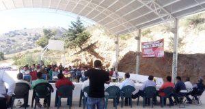 En Chichiltepec, Coxcatlán, Antorcha inaugura cancha techada