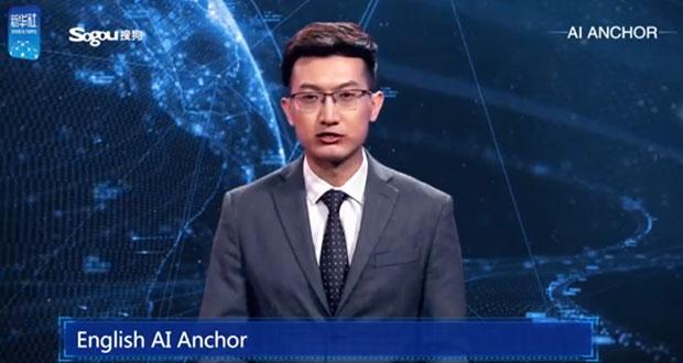 En China, debuta primer presentador de noticias virtual