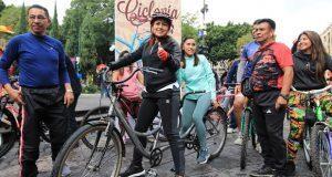 Comuna impulsa recorridos ciclistas para discapacitados visuales