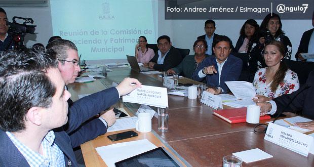 Comisión de Hacienda cita a Agua de Puebla y Soapap para explicar tarifas
