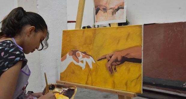Antorchistas de Atlixco participarán en Concurso Nacional de Pintura