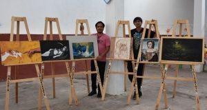 Destaca trabajo de tres atlixquenses en Concurso Nacional de Pintura