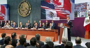 Nuevo tratado comercial T-MEC se firmará el 30 de noviembre: EPN
