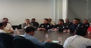 FGE se reúne con empresarios de Izúcar y Palmar; habrá operativos