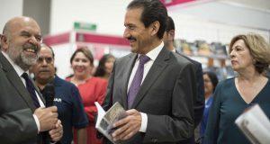 Con más de 60 editoriales, inicia Feria Nacional del Libro de la BUAP