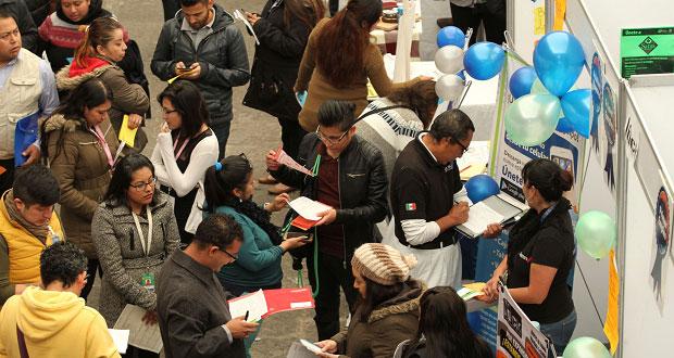 Puebla mantiene posición debajo de media nacional en desempleo