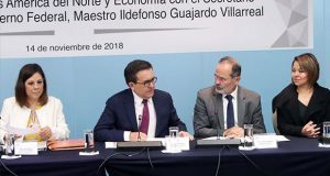 "Guajardo advierte a senadores de ""presiones"" para modificar T-MEC"