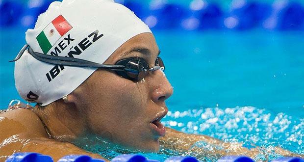 Liliana Ibáñez rompe récord en Copa Mundial de Natación
