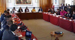 Reportan 55 detenidos en mesa de seguridad de Comuna poblana