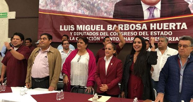 Barbosa reitera que Tepjf anulará elección y pide unión a morenistas