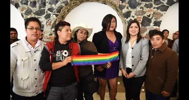 Nahomi García, primer persona trans que llega a ayuntamiento poblano