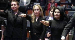 Senado toma protesta a Norma Sandoval como magistrada del TEEP