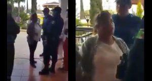 Video exhibe a regidora priista insultando a policías de Ocoyucan