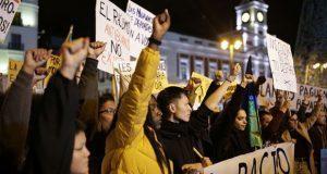 Protestas en Madrid en contra del racismo institucional