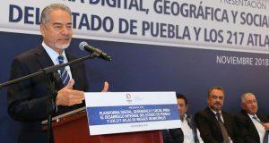 Gobierno estatal entrega Atlas de Riesgo a los 217 municipios