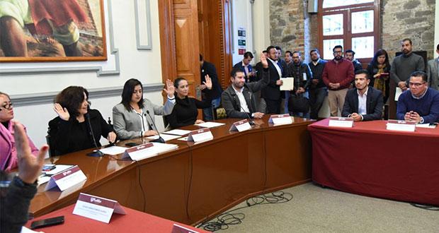 Rivera toma protesta a Miguel Andrade como director del Imacp