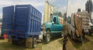 SSP asegura 15 unidades con más de 30 mil litros de huachicol