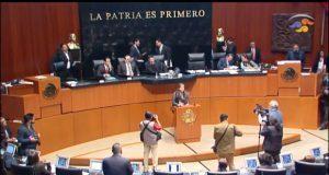 "Senado frena votación de ""Ley Taibo II"""