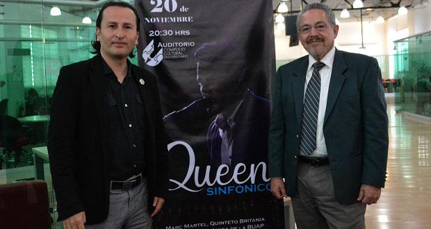 Sinfónica y coro de la BUAP volverán a tocar canciones de Queen