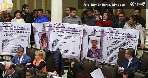 Exigen fiscalía y comisión especial para investigar desaparición forzada