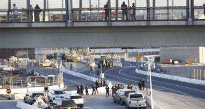EU reabre acceso peatonal de San Ysidro tras incidente con migrantes