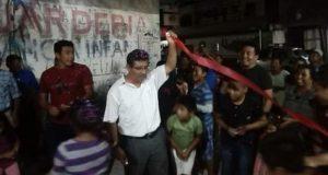 Concluye adoquinamiento de calle Los Laureles en Altepexi