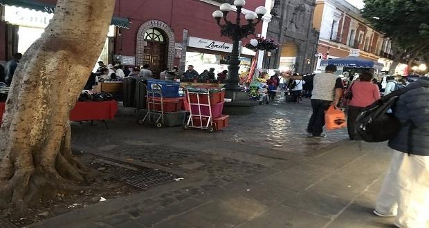 Aún sin acabar el Buen Fin, ambulantes regresan a la 5 de Mayo