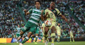 América se aferra al segundo puesto al empatar ante Santos