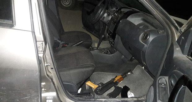Sedena y SSP decomisan armas en Texmelucan