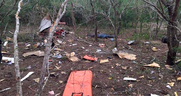 En menos de 24 horas, cae otra avioneta y mueren dos en Tamaulipas