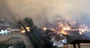 Incendios en California dejan nueve muertos y miles de evacuados