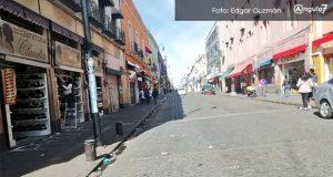 Ambulantes respetan Buen Fin y no se instalan en calles del CH de Puebla