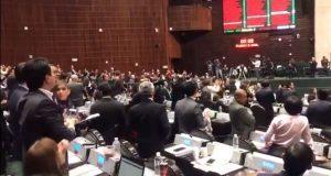 Diputados de PAN, PRI y MC frenan eliminación de fuero a presidente