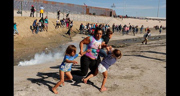 CNDH reprueba violencia contra migrantes en frontera de México y EU