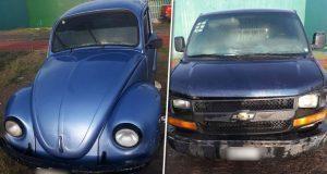 Sedena y SSP recuperan 9 vehículos usados para robo de combustible