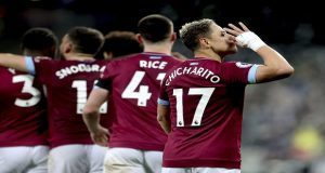 "Tras sequía de meses, ""Chicharito"" anota en la goliza del West Ham"