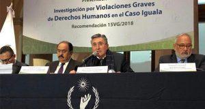 Tras 4 años, CNDH acredita agravios y errores en caso Ayotzinapa